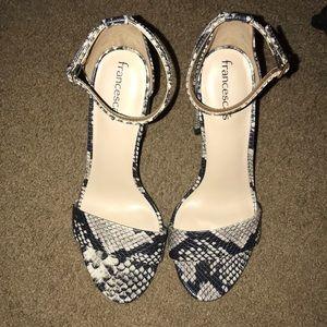 c55e692d749 Francesca s Collections Shoes - Francesca s snakeskin heels